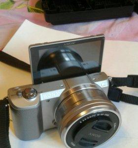 SONY Alpha ILCE-5000 Kit Silver.