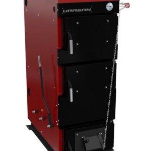 Котел комбинированый стальной URAGAN PROF 45 кВт
