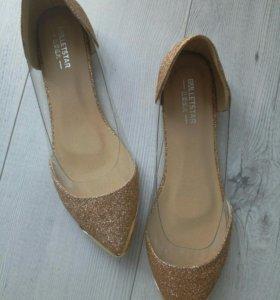 Новые туфли балетки 37 размер