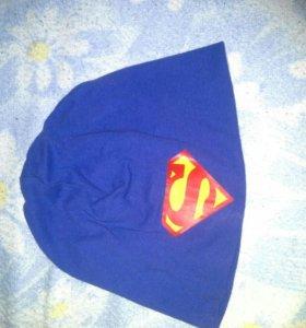 Шапка супермен