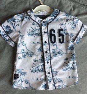 Рубашка Next (коллекция Круиз),3-4 года 104 см.