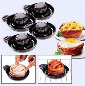Формочки для приготовления съедобных тарелок (2шт)