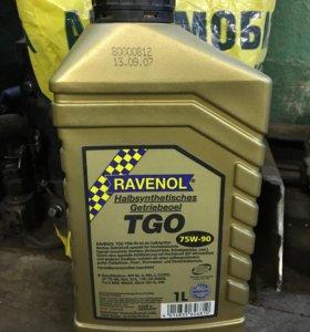 Масло трансмиссионное полусинт. Ravenol TSG 75W-90