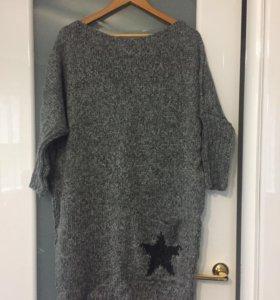 Платье- свитер ( новый)