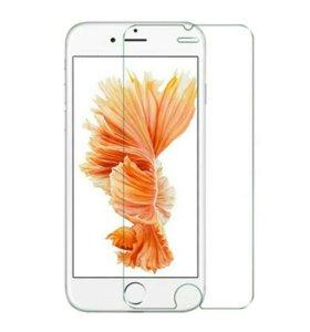 Стекло защитное на Айфон IPhone 5, 5s