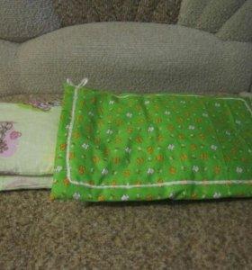 Комплект постельного белья для куклы