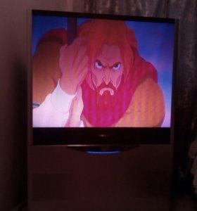 Телевизор110см.диагональю.