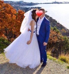 Счастливое свадебное платье ❤️