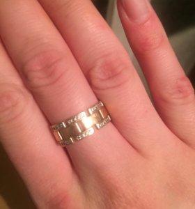 Золотое кольцо ручной работы