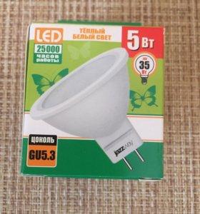 Светодиодные лампочки GU 5,3