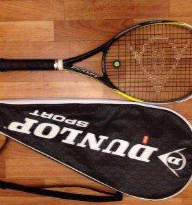 Теннисная ракетка взрослая dunlop biomimetic G3/4