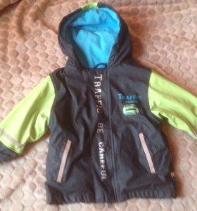 Курточка 80-92 Lupilu+колготки в подарок