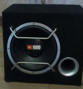 Сабвуфер JBL 1000 watts gt 4 series
