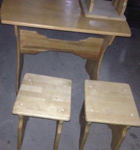 Стол стул комплект журнальный