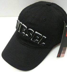 💎Кепка бейсболка Diesel (black) # 1