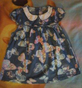 Новое платье для девочки, 98-104
