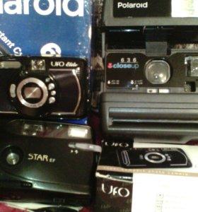 3 фотоаппарата,