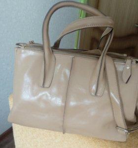 новая сумка, натуральная кожа