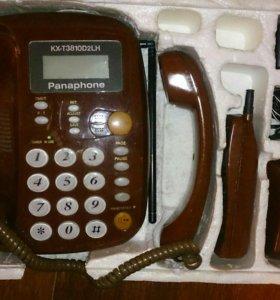 Стационарный телефон + трубка