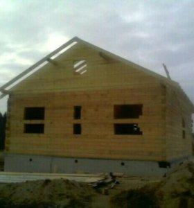 Строительство домов ,бань,беседок