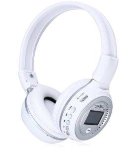 Беспроводные Bluetooth наушники,Fm-радио,Micro-SD