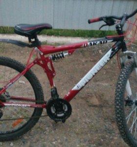 Велосипед 21 горный,песщаник.