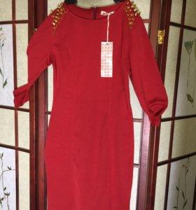 Платье из фр., трикотажа Новое