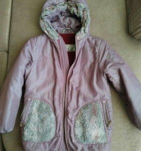 Куртка для девочки (рост 134 см)