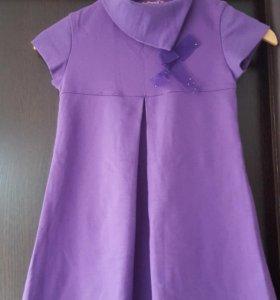 Платье б/у для девочек рост 140