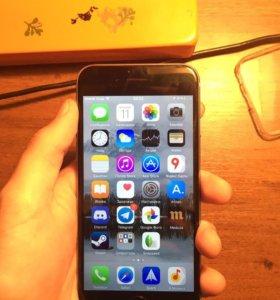 iPhone 6 16gb Полный комплект в идеальном состояни