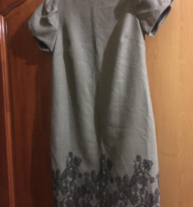 Платье шерсть