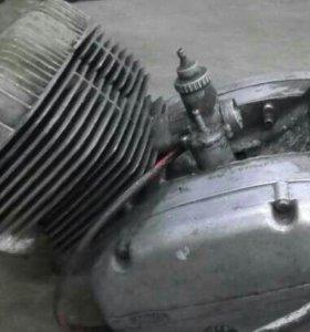 ЯВА 350 Двигатель на запчасти