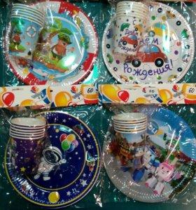 Посуда и аксессуары для праздника
