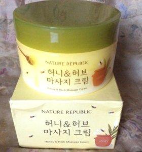 Honey Herb Massage Cream