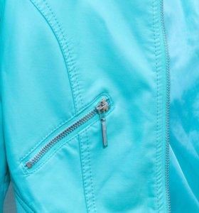 куртка кожзам Zolla