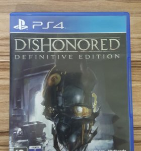 PS4. Dishonored definitive edition. Лицензия