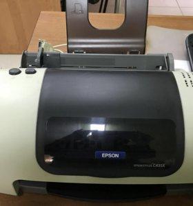 Струйный принтер epson c43s