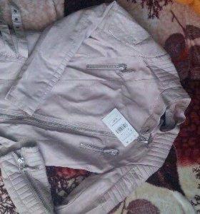 Куртка новая(возможен обмен)