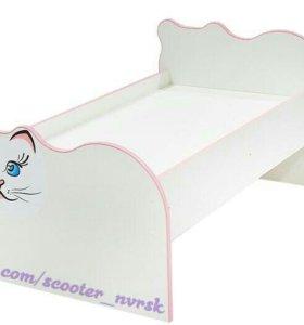 Детская кроватка «Кошечка».