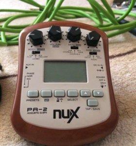 """Гитарный процессор """"NUX"""""""