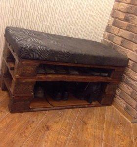Универсальная мебель из поддонов