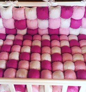 Бортики и одеяло бон бон