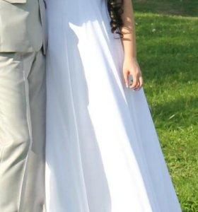 Очень красивое свадебное платье!!!!!