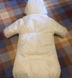 Конверт зимний для новорождённого