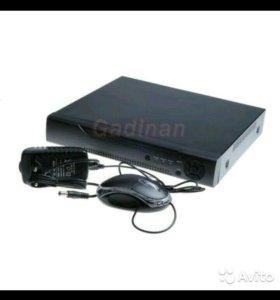 Видеорегистратор 16-канальный с жестким диском