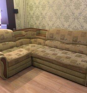 Диван угловой + кресло-кровать
