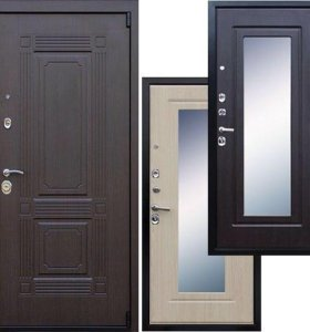 Дверь стальная Викинг АСД зеркало