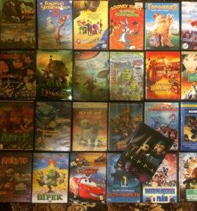 Диски с мультфильмами на DVD
