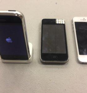Продаю или меняю iPhone 2g, 3GS , 5