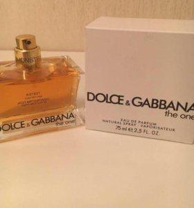 ✅Тестер DOLCE&GABBANA the one , 75ml.